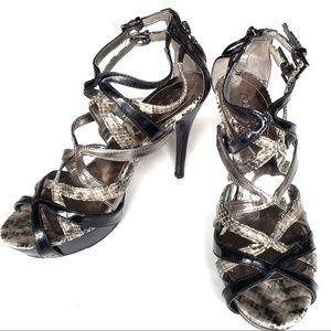 Guess Women's Platform Stiletto Strappy Heels